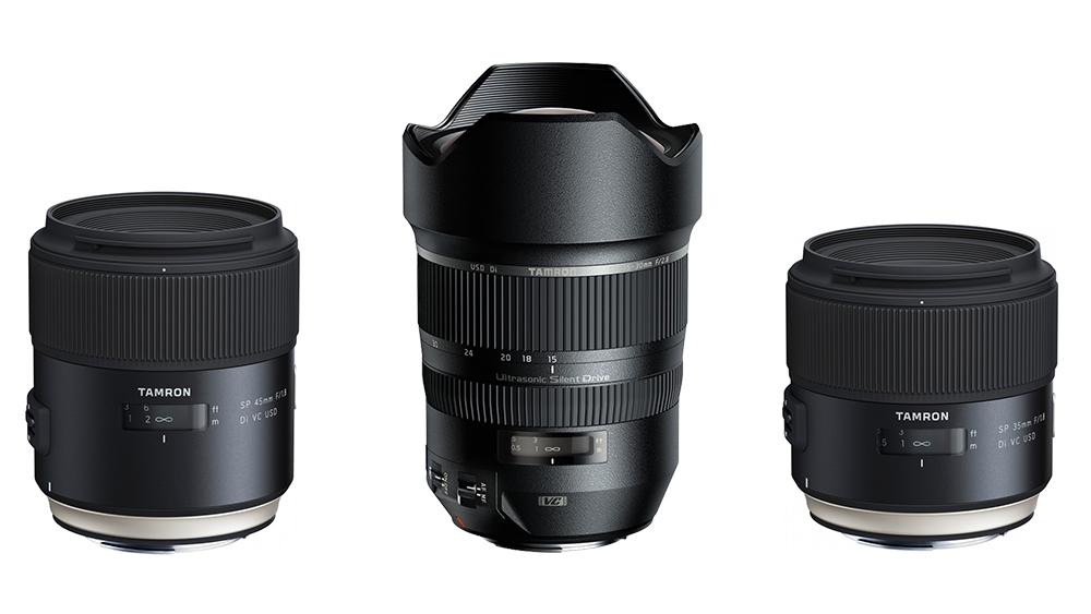 Nüüd saadaval: uued Tamron SP seeria objektiivid Sonyle