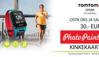 Sportimine efektiivseks - TomTom Spark GPS spordikella ostul väärtuslik kingitus