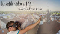 Kasulik vidin #179: Vivanco virtuaalreaalsuse prillid Cardboard Viewer