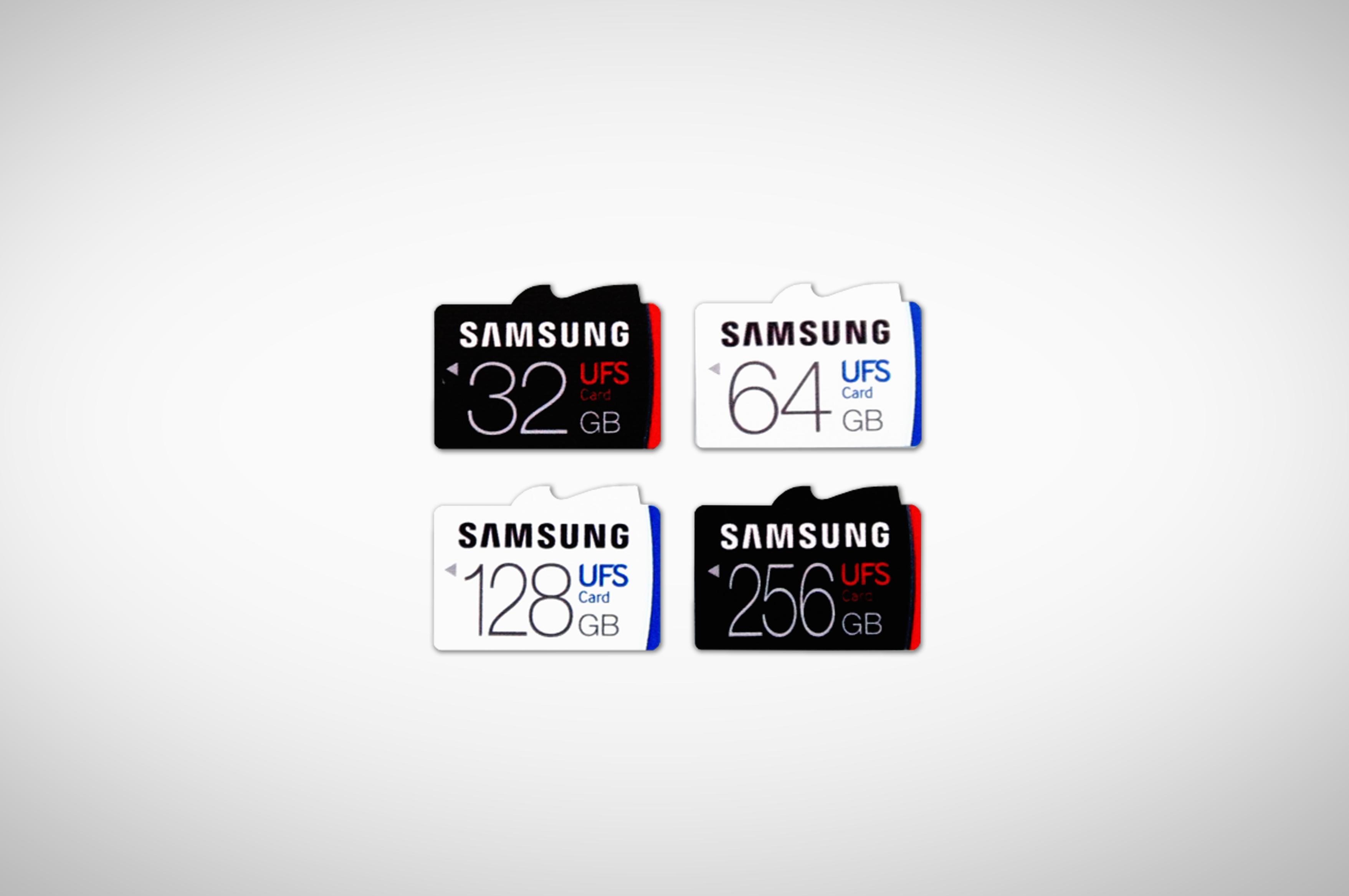 Samsungi uued UFS mälukaardid lubavad praegusest microSD standardist 5× suuremat kiirust