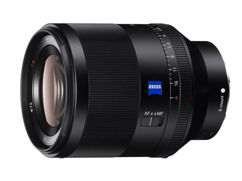 Sony Planar T* FE 50mm F1.4 ZA on valgusjõuline objektiiv täiskaader kaameratele