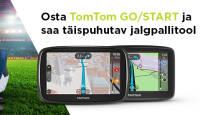 Ära eksi teelt - TomTom Go või Start GPS seadme ostul saad mõnusa kingituse
