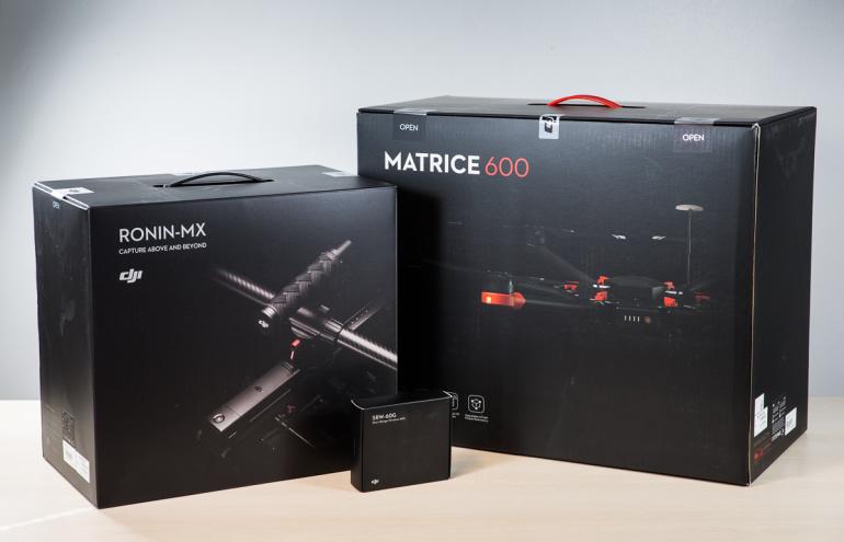 NÜÜD SAADAVAL: Ülivõimas DJI Matrice 600 ja Ronin-MX gimbal