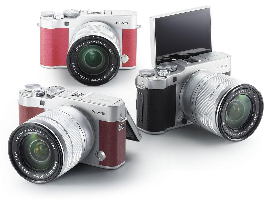 Fujifilm X-A3 hübriidkaamera sai tarkvarauuenduse