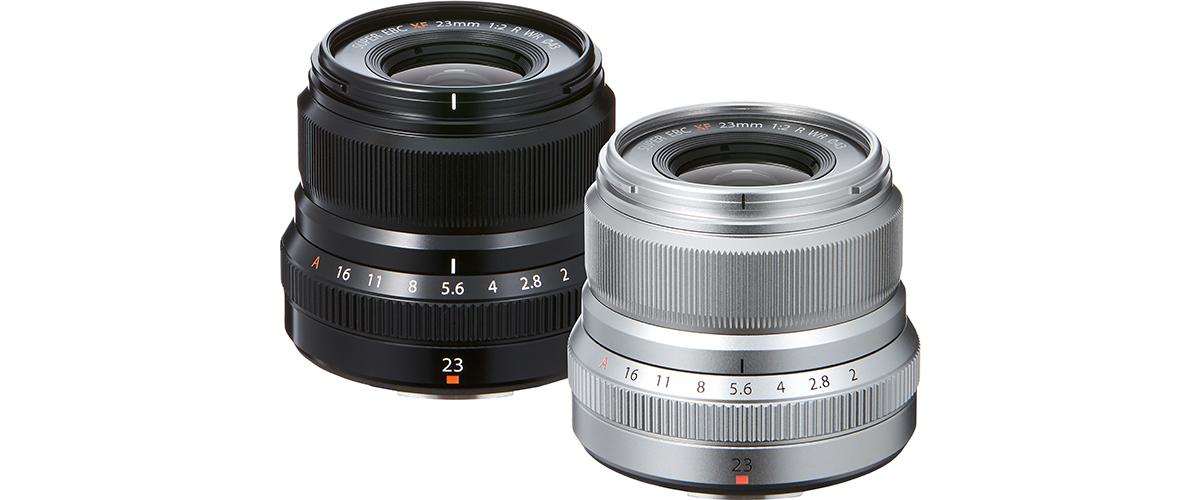 Fujifilm lisab XF 23mm f/2 R WR objektiivi ilmastikukindlate torude rivvi