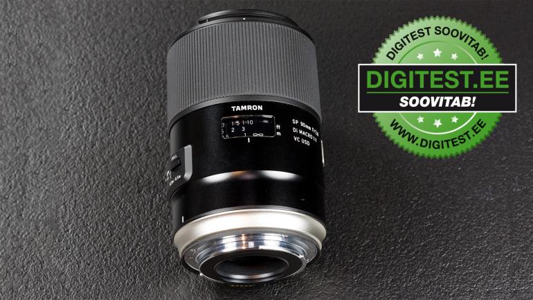 Digitest.ee: Tamron SP 90mm f/2.8 Di VC USD makroobjektiiv viib sind miniatuursesse maailma