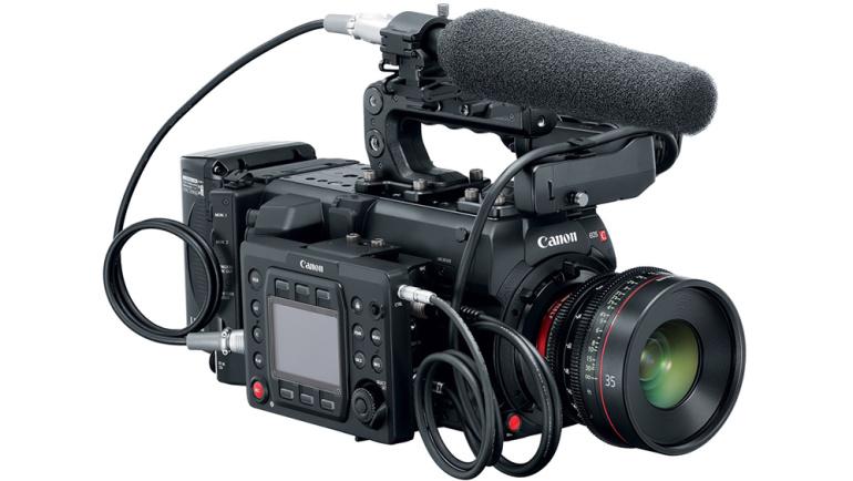 Canon EOS C700 on uus EOS Cinema kaamerate lipulaev