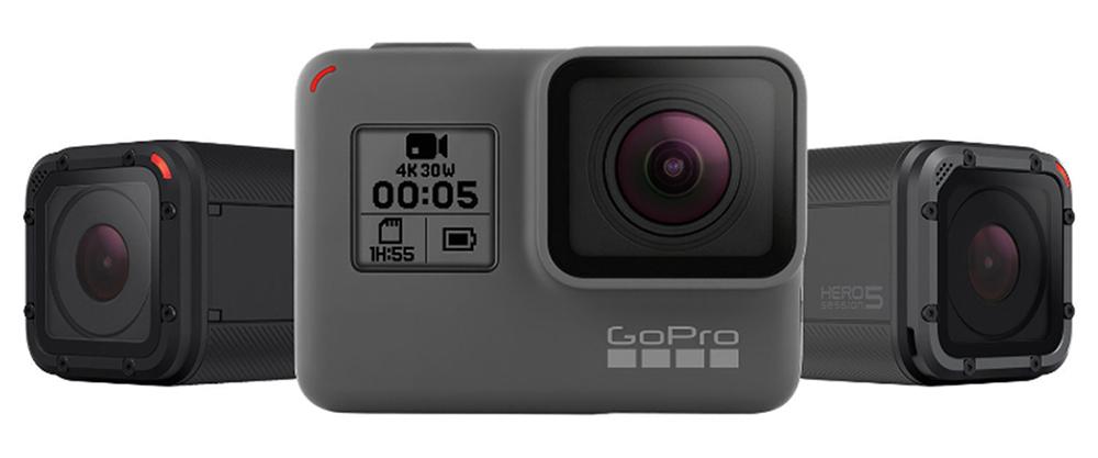 GoPro Hero5 Black on 2-tollise puuteekraaniga ning häälkäsklustega 4K seikluskaamera