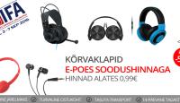 IFA 2016: kõrvaklapid kuni -53% + tasuta transport olenemata ostusummast