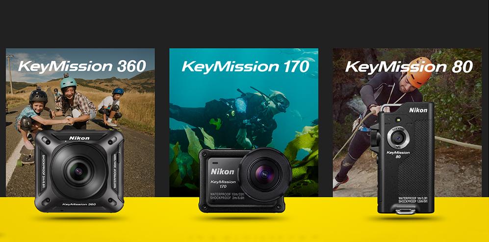 1ece9b13875 Nikon tutvustas Photokinal kolme KeyMission seikluskaamerat - Photopointi  ajaveebPhotopointi ajaveeb