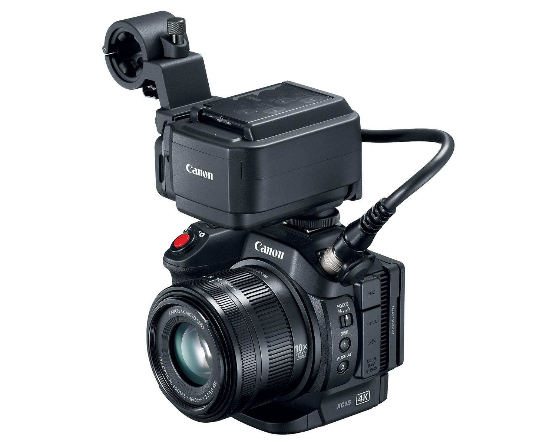 Canon XC15 on ülimalt kompaktne 4K UHD võimekusega videokaamera