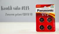 Kasulik vidin #193: Panasonic patarei CR2032/4B