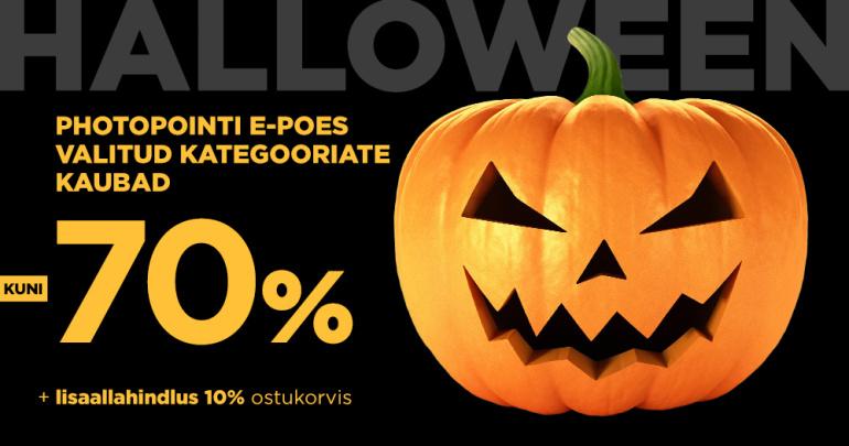 Halloween hirmutab veebipoes hinnad alla. Ainult 24h!