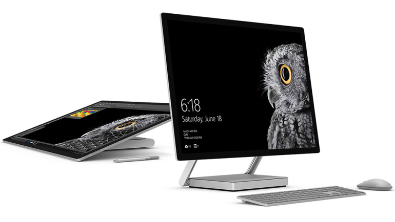 Microsoft Surface Studio on unelmate lauaarvuti loovinimestele