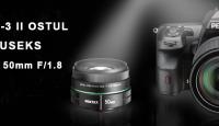 Ilmastikukindla Pentax K-3 II peegelkaamera ostul saad hinnalise kingituse