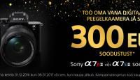 Too oma vana peegelkaamera meile ja saad Sony hübriidkaamerate kuninga 300€ soodsamalt