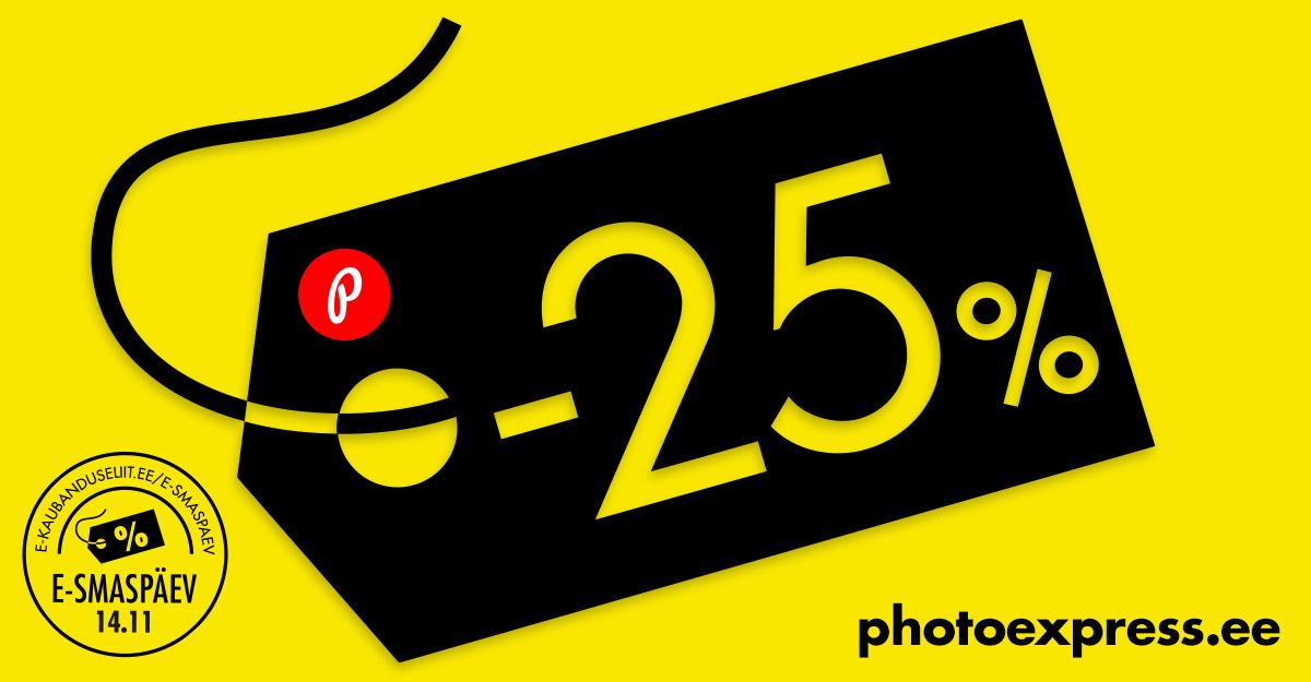 Suurel e-ostlemise päeval osaleb ka PhotoExpress Online