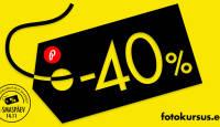 Fotokursus.ee tähistab samuti suurt e-ostlemise päeva