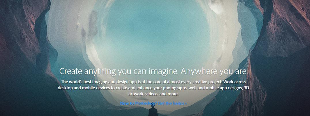 Adobe Photoshop CC 2017 toob uhiuue otsingutööriista