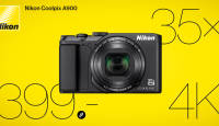 Suurepärane Nikon Coolpix A900 reisikaamera rahakotisõbraliku hinnaga