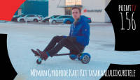 Point TV 156. MPman Gyropode Kart Kit tasakaaluliikuritele
