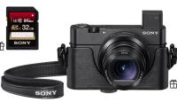 Sony võimsaima ja kompaktseima taskukaamera ostul kaasa väärt kingitused