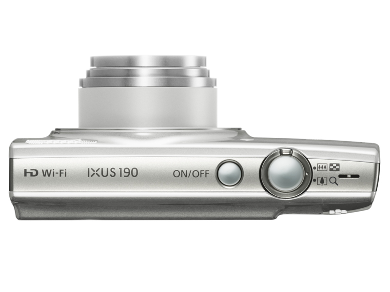 ixus-190-silver-top-lens-out