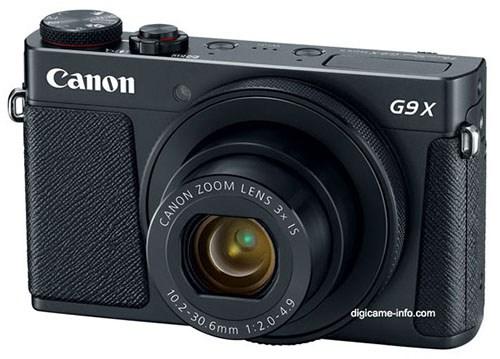 Lekkisid Canon Powershot G9 X Mark II tehnilised andmed ja pildid