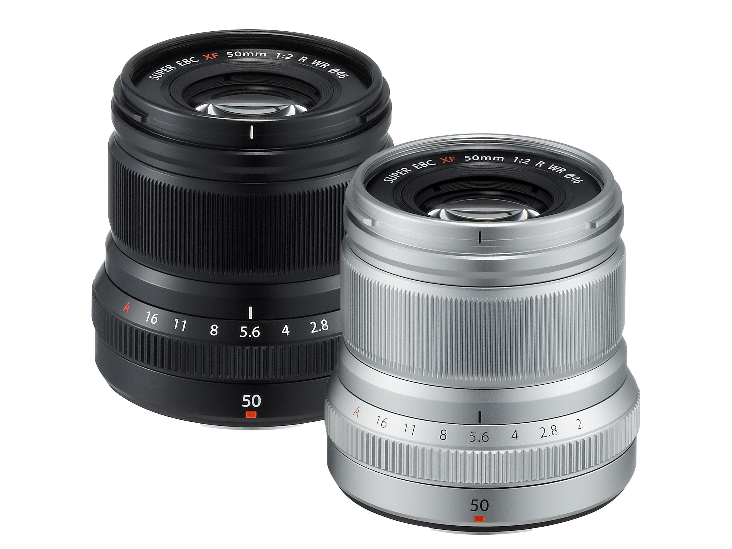 Fujinon XF 50mm F2 R WR on Fujifilmi ilmastikukindlate objektiivide uus pereliige