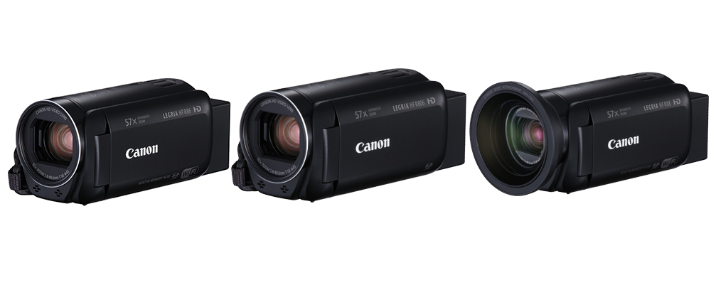 Canon tutvustas kolme uut Legria seeria videokaamerat