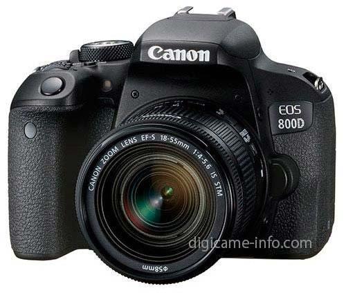 Canon EOS 77D ja EOS 800D tooteinfo ja pildid lekkinud / lekitatud