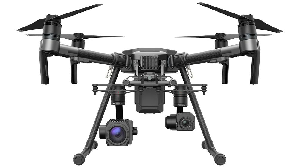DJI Matrice 200 seeria droonid on disainitud tööstuslikeks rakendusteks