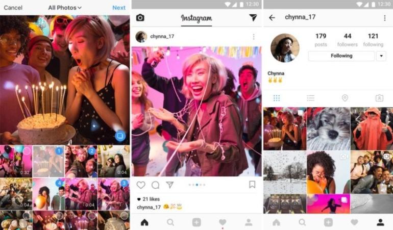 Instagram lubab nüüdsest ühte postitusse panna mitu fotot