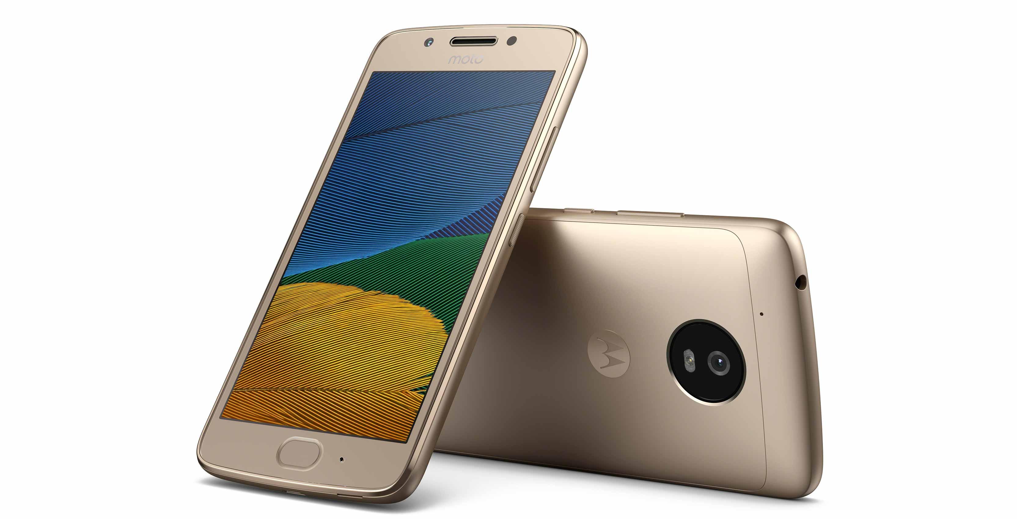 Lenovo tutvustas Moto G5 ja Moto G5 Plus nutitelefone