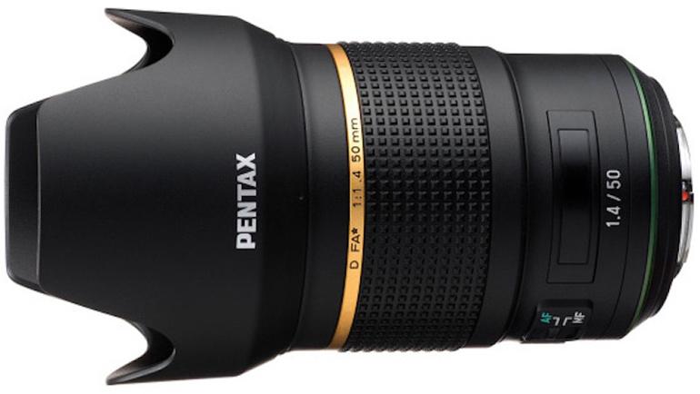 Ricoh on arendamas uut Pentax D FA★ 50 mm f/1.4 objektiivi