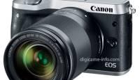Lekkisid tulevase Canoni hübriidkaamera EOS M6 tootefotod