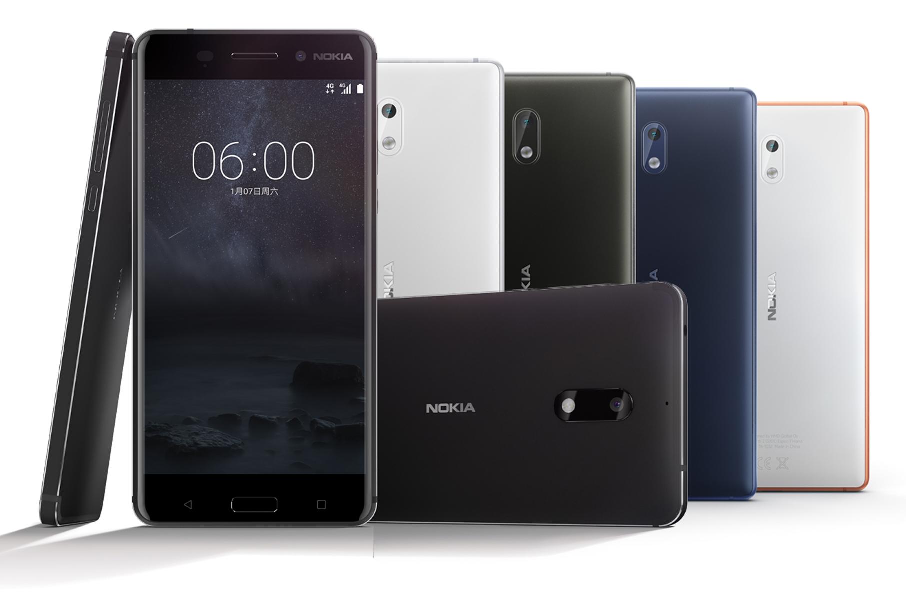 Nokia üllatab kolme uue Android nutitelefoniga