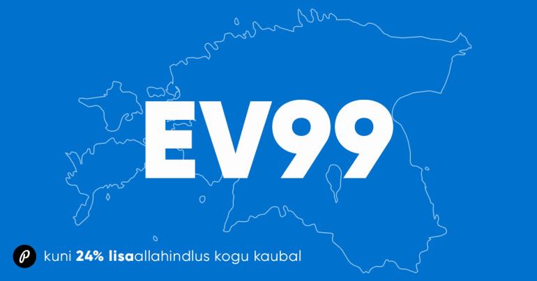 Tähistame e-poes Eesti Vabariigi aastapäeva korraliku lisaallahindlusega