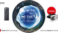 360° video- ja fotokaamera Ricoh Theta S ostul kingituseks põnev abimees