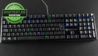 Digitest.ee: Roccat Suora FX on pilkupüüdev mehhaaniline klaviatuur