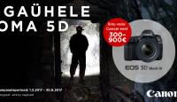 Too enda vana Canon digipeegel meile – saad uue Canon EOS 5D Mark IV sõgedalt soodsa hinnaga