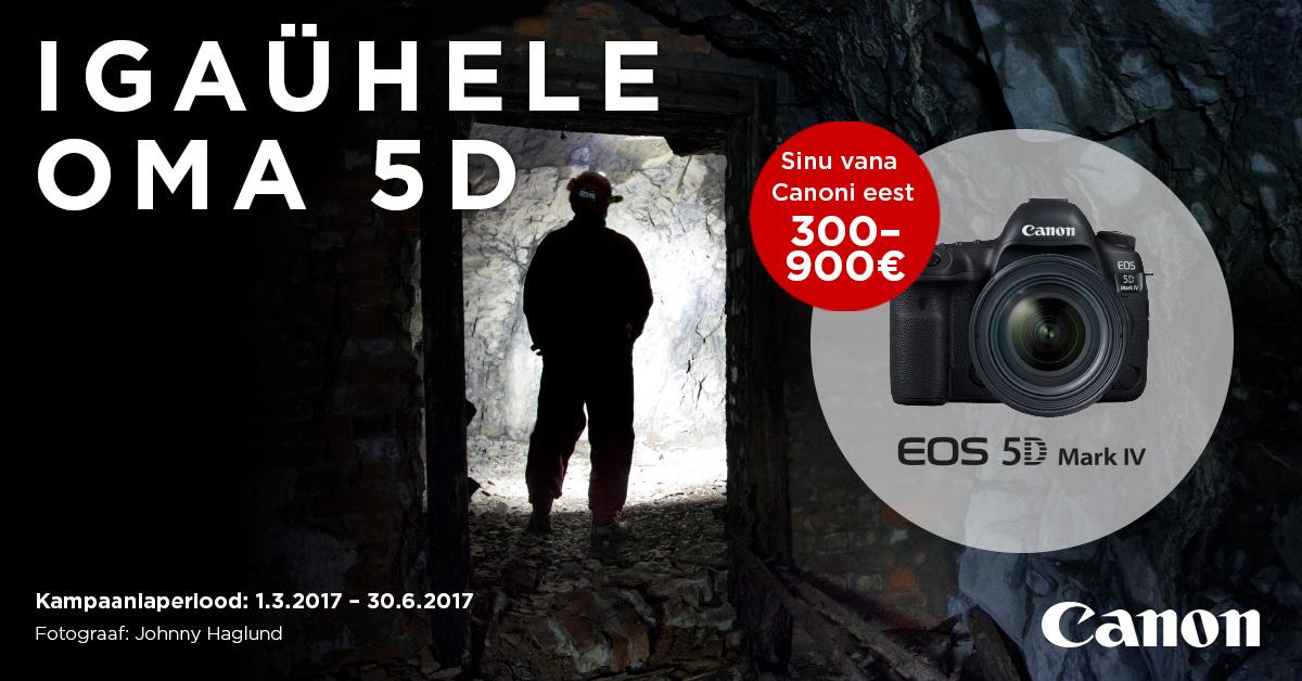 162736038fb Oled järjest enam hakanud mõtlema oma vana Canoni digipeegelkaamera välja  vahetamisele ning unistanud Canoni tippklassi EOS 5D Mark IV  peegelkaamerast?