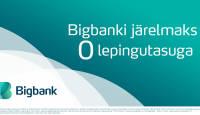 Photopointis on Bigbank järelmaksul 0 lepingutasu