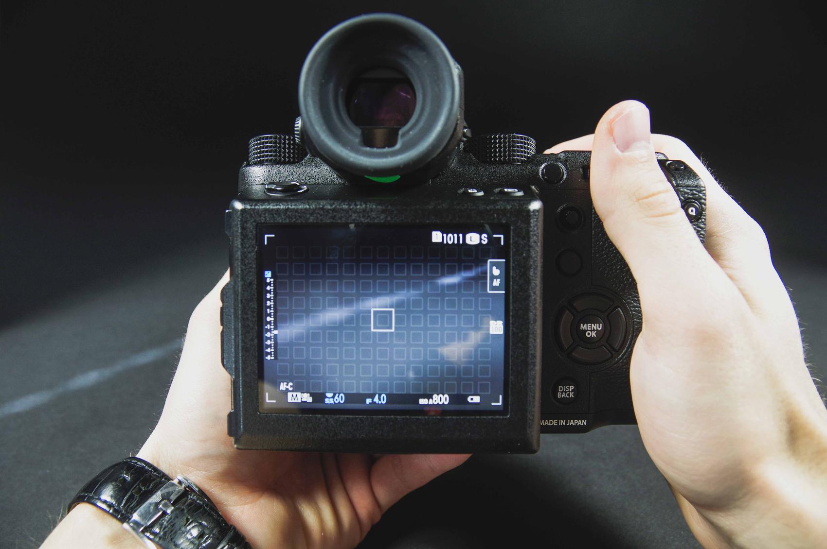 166f524b13c Võimalikult palju valikuid on toodud kaamera peale. Seda just sellepärast,  et ei peaks ringi otsima kaamera menüüdes.