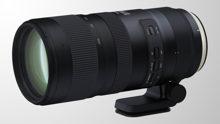 Nüüd saadaval: Tamron SP 70-200mm f/2.8 Di VC USD G2 objektiivid