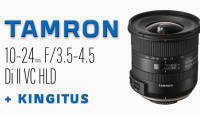 Nüüd saadaval: Tamron 10-24mm f/3.5-4.5 Di II VC HLD objektiivid