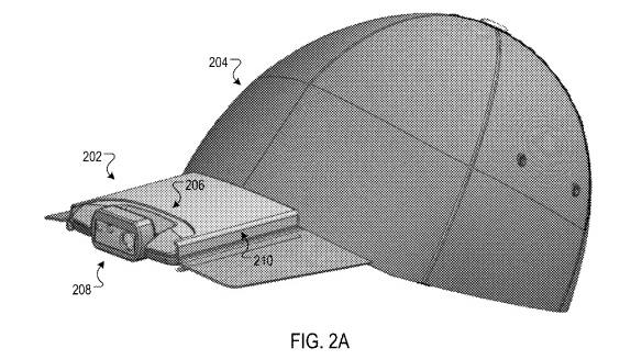 Google sai patendi kaameraga nokamütsile