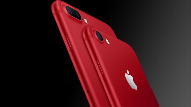Uued punased õunad Apple iPhone 7 ja iPhone 7 Plus