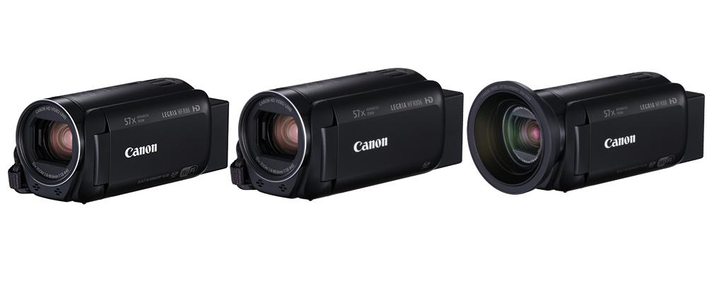 Nüüd saadaval: Uued Canon Legria videokaamerad