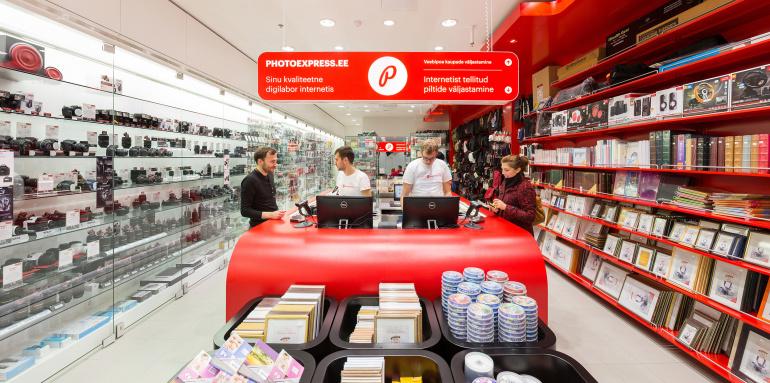 Photopointi kaupluses Ülemiste keskuses on kõik fototeenused 20% soodsamad